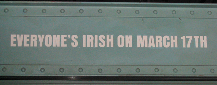 Saint-Patrick - 17 Mars